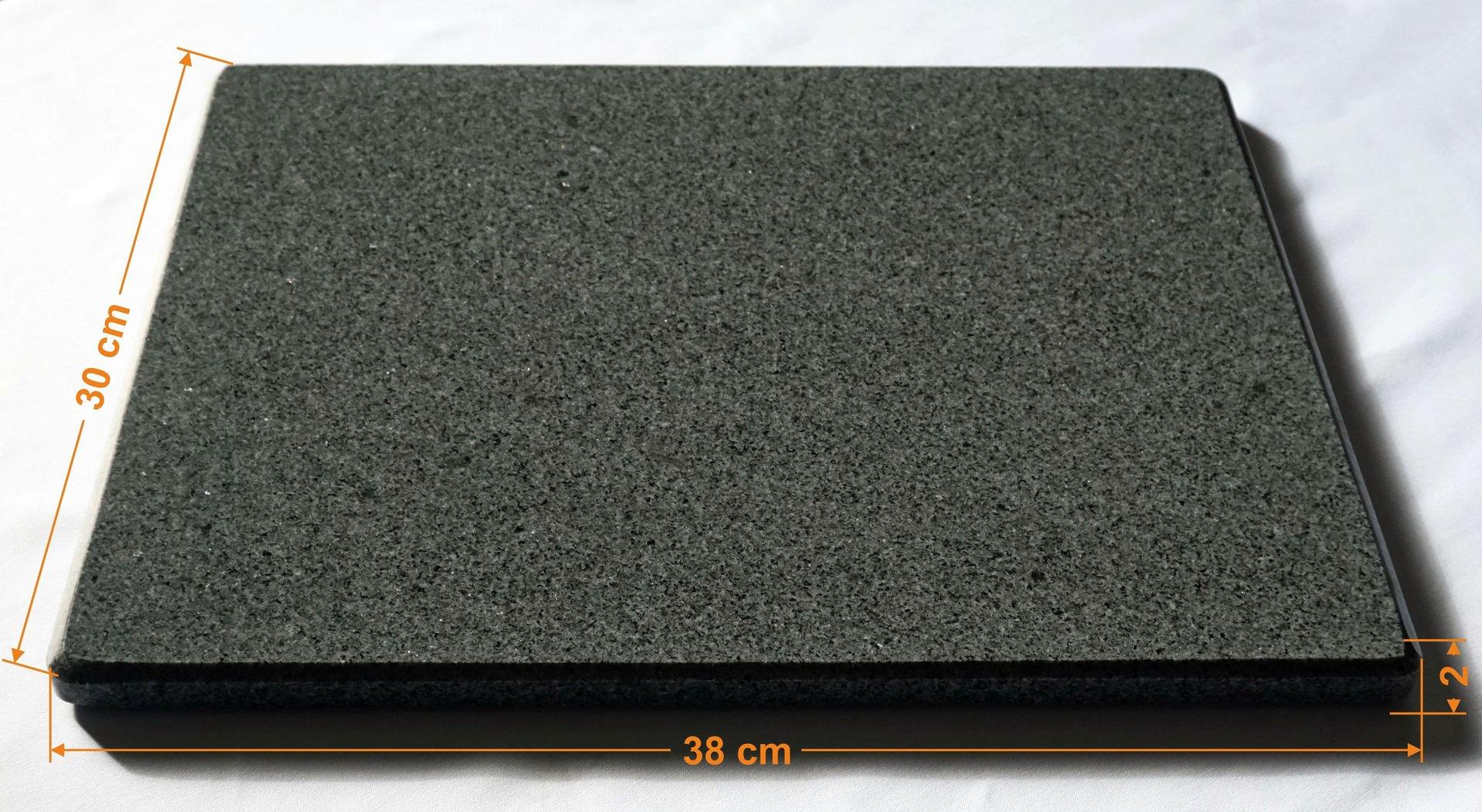 Pizzastein aus granit u2013 Mischungsverhältnis zement ~ 01235330_Backstein Schamotte Aus Cordierit