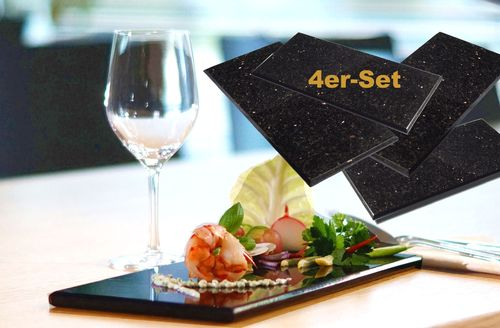 4er-Set STAR Galaxy Granit 30x15x1cm